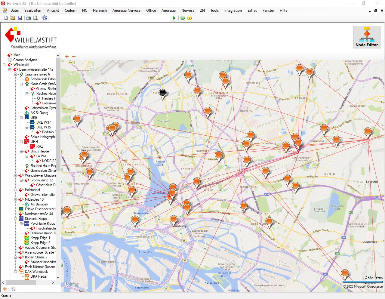 Rydel Grid Map